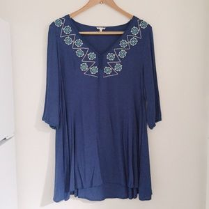 Dresses & Skirts - Lightweight embroidered dress